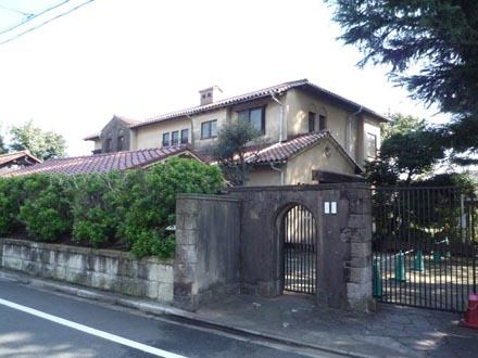 成城の洋館②志村邸1