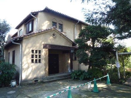 成城の洋館②志村邸2