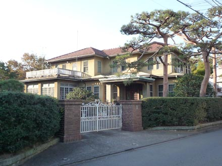成城の洋館山田邸①