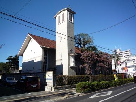 カトリック成城教会外観①