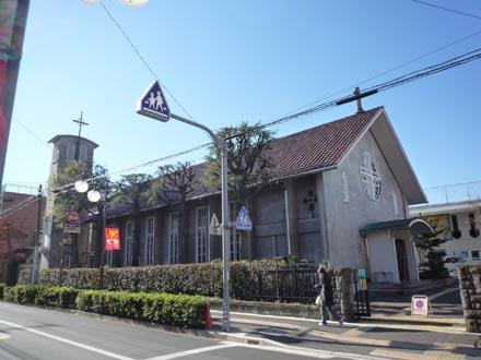 カトリック成城教会外観②