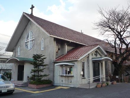 カトリック成城教会外観⑤
