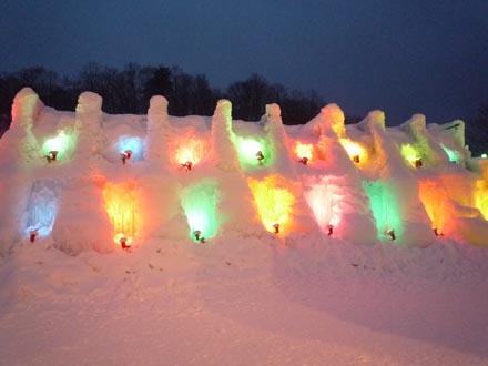 氷濤祭り②