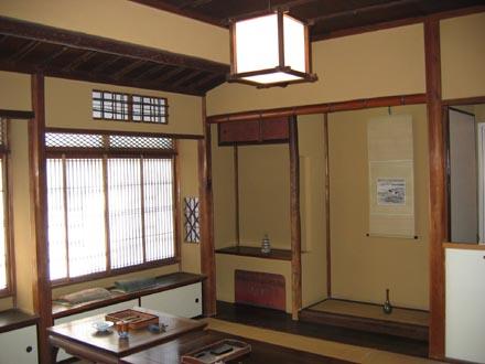 山本有三記念館和室