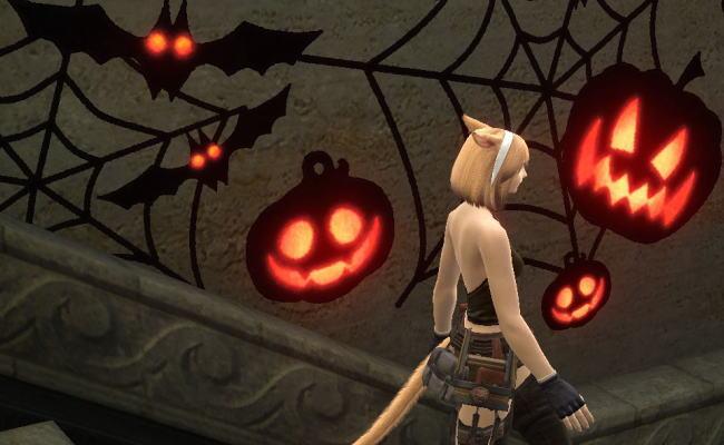 不審者を捕まえろ!恐怖!かぼちゃネコ!2