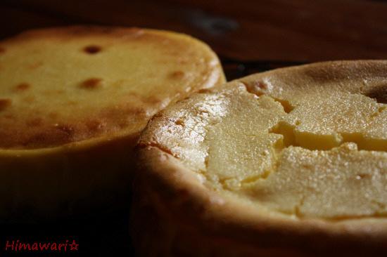 NYチーズとベイクドチーズ1