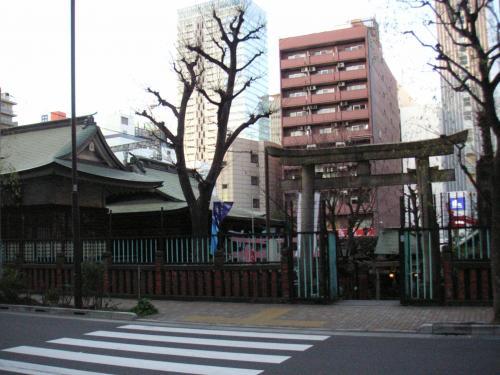 福寿神・柳森神社入口