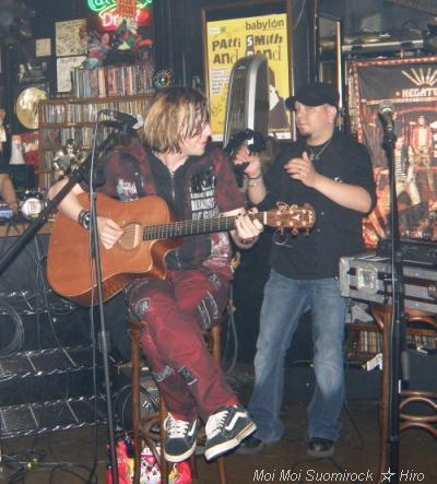 Monday Gary & Salla in Japan 28.05.2009