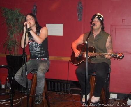Nicklas & Lappe Acoustic Karaokemesta Kannelmäki 27.06.2009