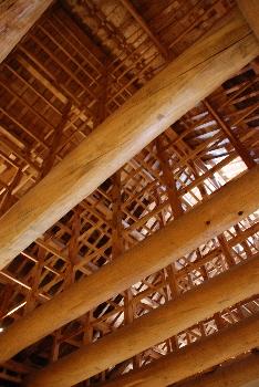 お台所の天井。