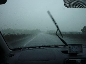 ゲリラ豪雨。。