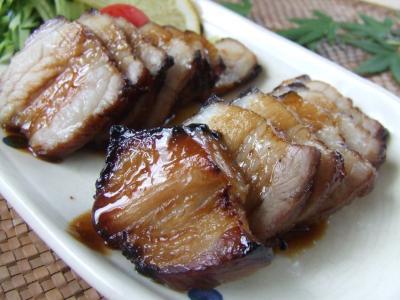 ハチミツ焼き豚