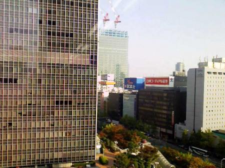 大阪支店からの風景