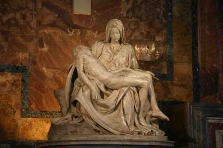 Pieta of ST peters