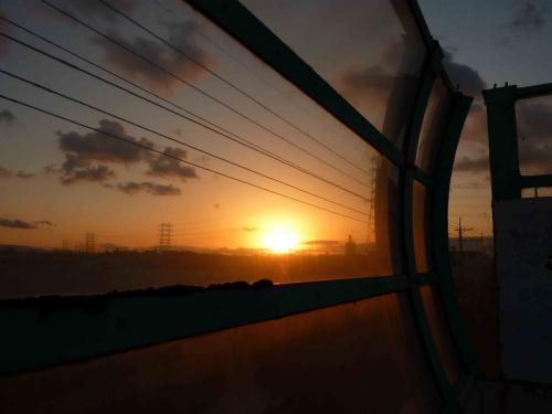 sunset of kawachi