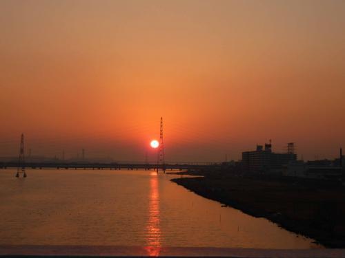 sunset toujimae yodogawa