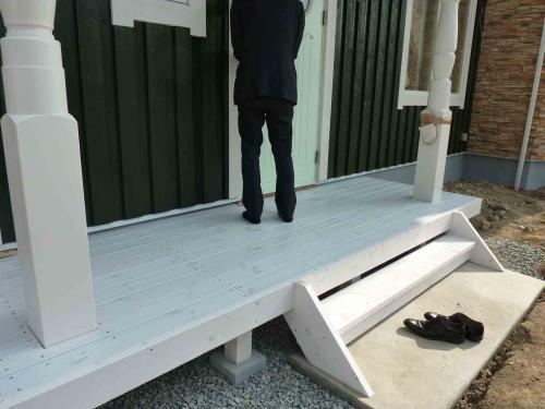 deck entrance