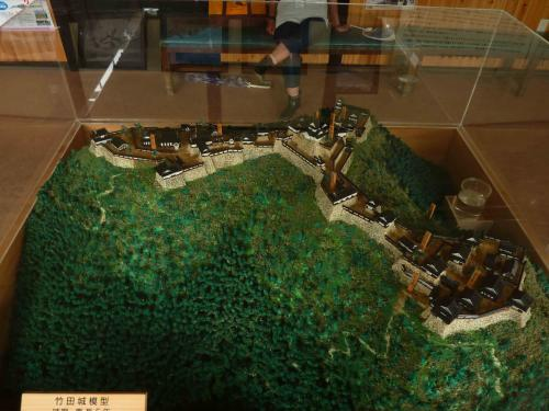 竹田城 模型 イン案内所