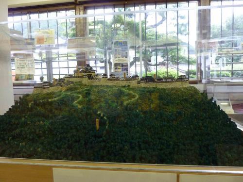 竹田城 模型 イン案内所 (1)