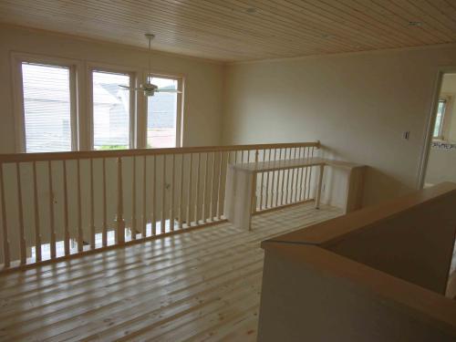 white stain cealing  floor