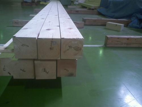 無垢 檜柱