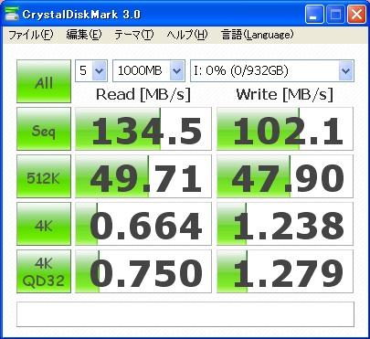 CrystalDiskMark 0S02601 1000MB