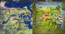 同盟軍占領地HQ MAP