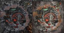 コールドロン火山地帯 MAP