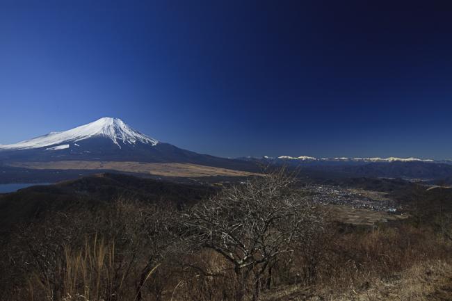 石割山富士-2