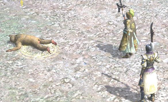 麗さんとお猿さんのお尻を見つめる
