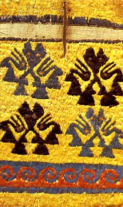 天野博物館チムー織物