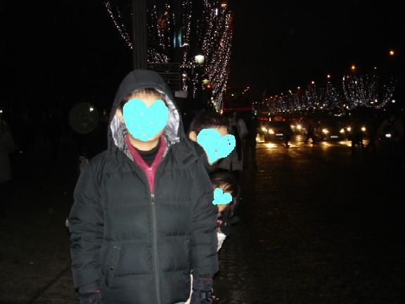 夜のシャンゼリゼ~ブログ