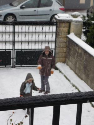 la neige2009