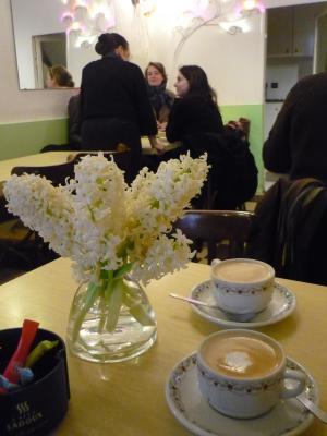cafe et fleur