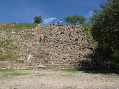 遺跡  階段