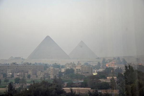 エジプト3-朝の部屋からの眺め
