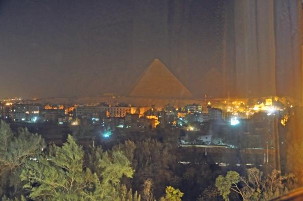 エジプト1-ホテルの部屋からの眺め