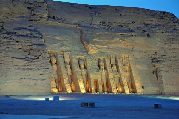 エジプト33-光と音のショー1