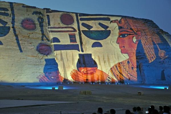 エジプト35-光と音のショー3