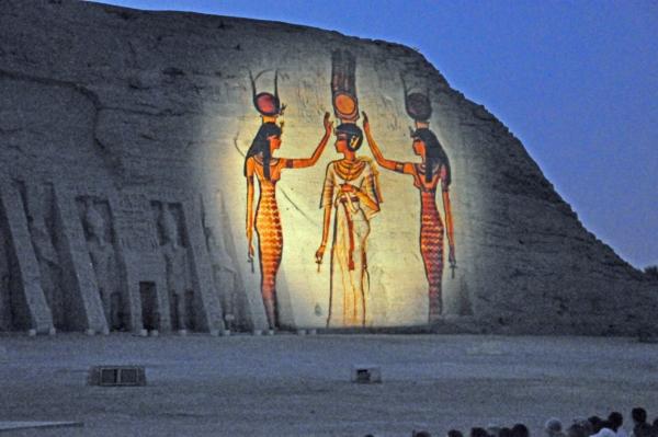 エジプト36-光と音のショー4
