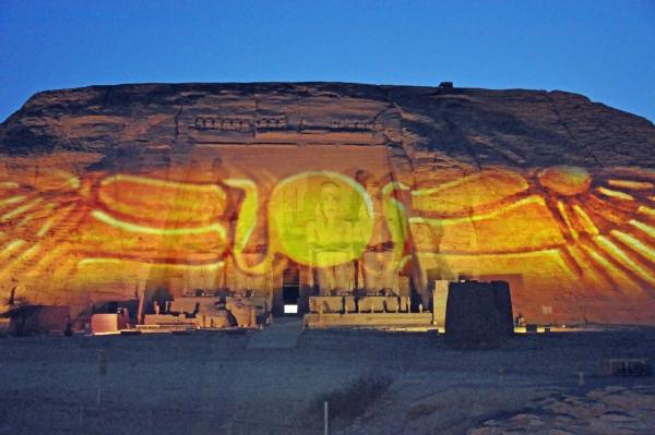 エジプト37-光と音のショー5