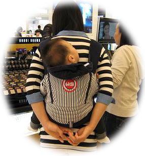 2010年4月ソウルの抱っこ紐⑤
