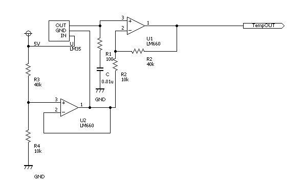温度センサ回路