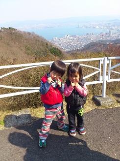 比叡山双子。