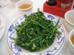 鳳城の炒空心菜