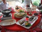 婚約式の宴会料理