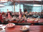 出張宴会料理の調理風景1