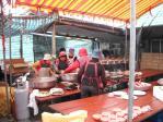 出張宴会料理の調理風景3