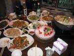 龜山島海鮮店の海鮮料理2