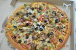 PIZZA HUTの超級豪華ピザ
